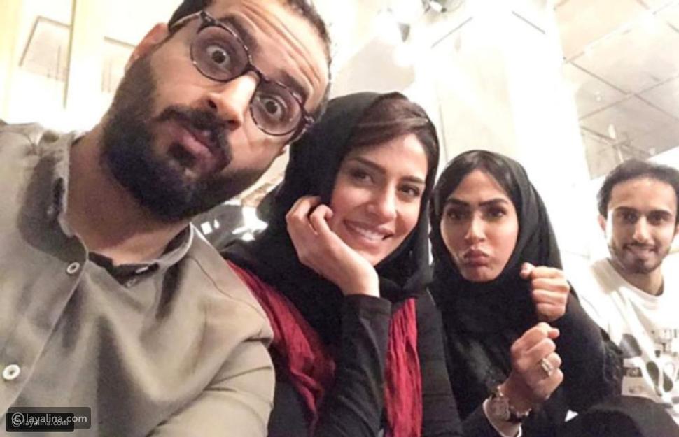 خالد صقر وإلهام علي