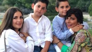 أصالة تكشف سبب غضب ابنها بعد صراخه ومشادته مع جدته أثناء تصويرها فيديو