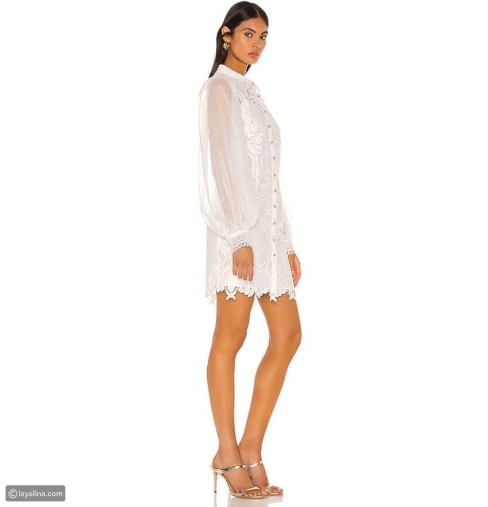 فستان أمينة خليل على موديل