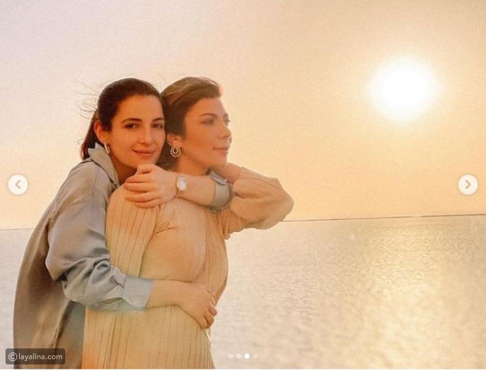 أصالة في جدة وجلسة تصوير رومنسية مع ابنتها