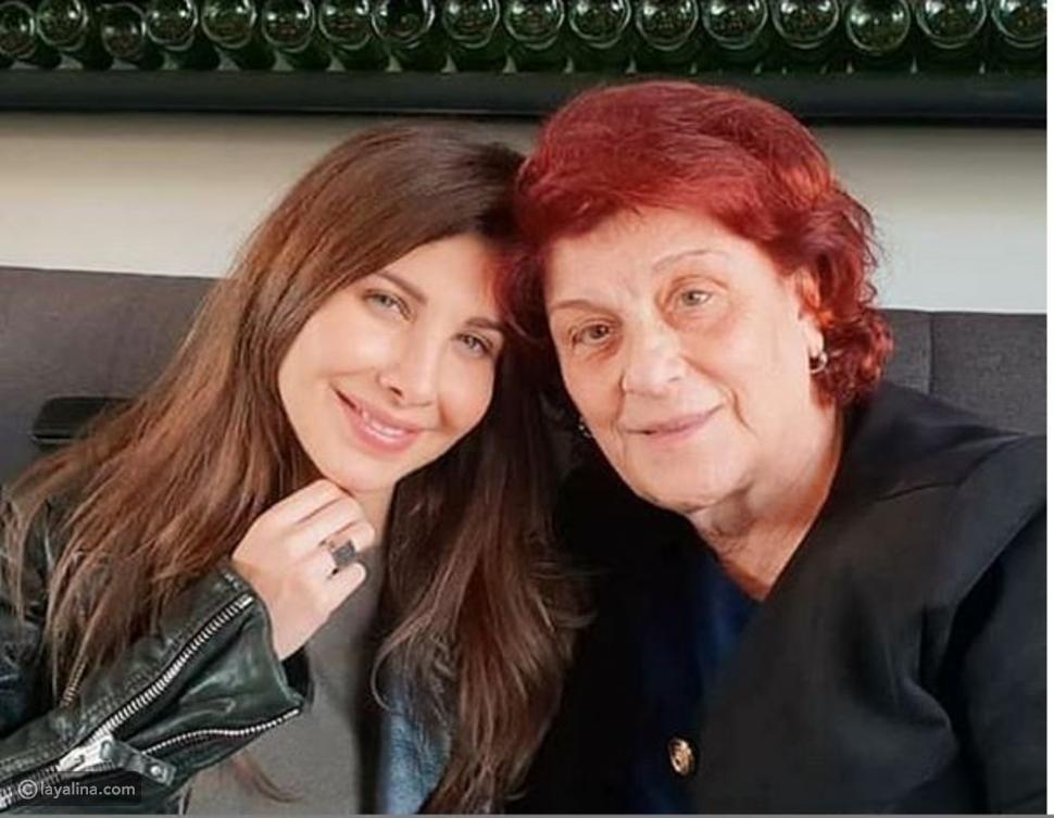 صورة نانسي عجرم وحماتها تتصدر مواقع التواصل بعد مرض والدة الهاشم