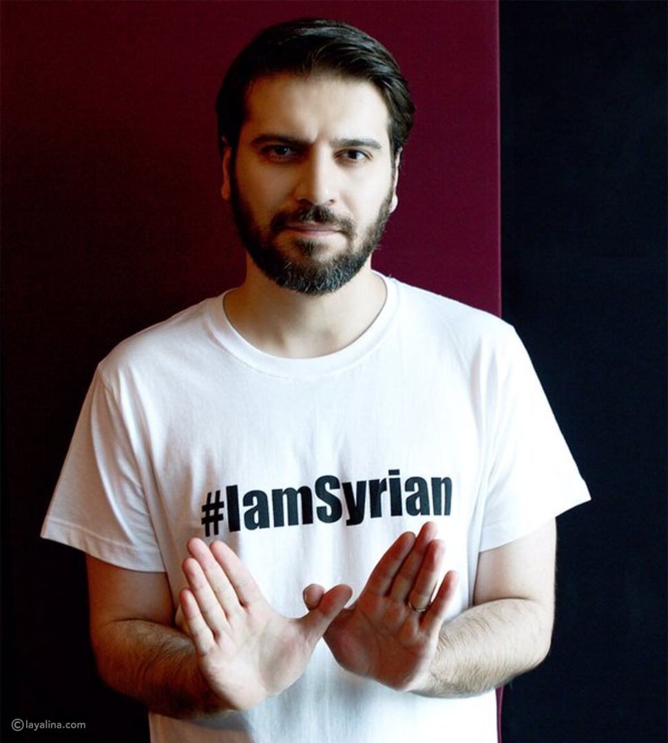 صور وفيديو مشاهير العرب والعالم يتضامنون لإيقاف الحرب في سوريا