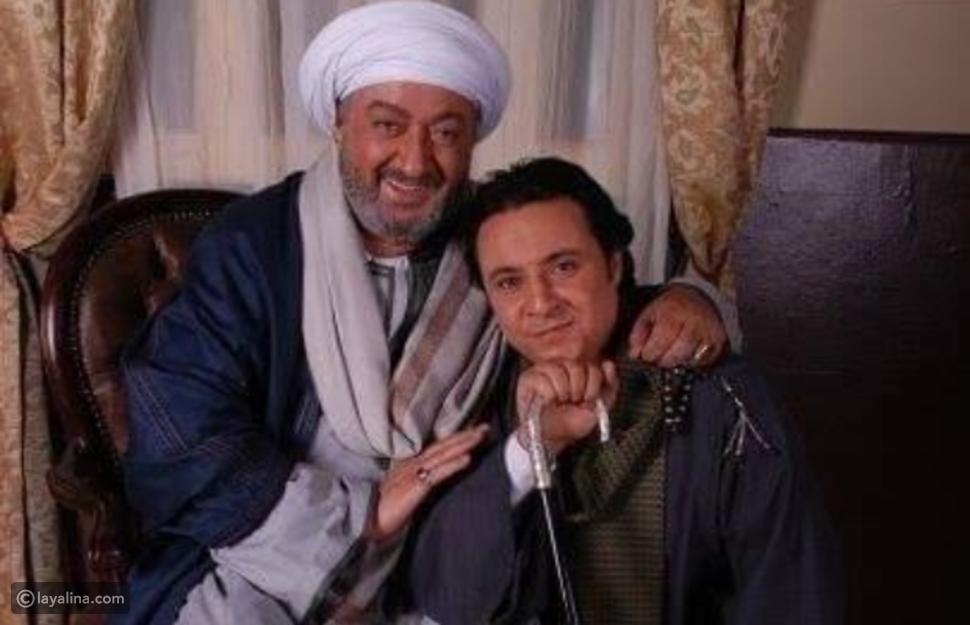 الفنان محمد صلاح مع النجم نور الشريف