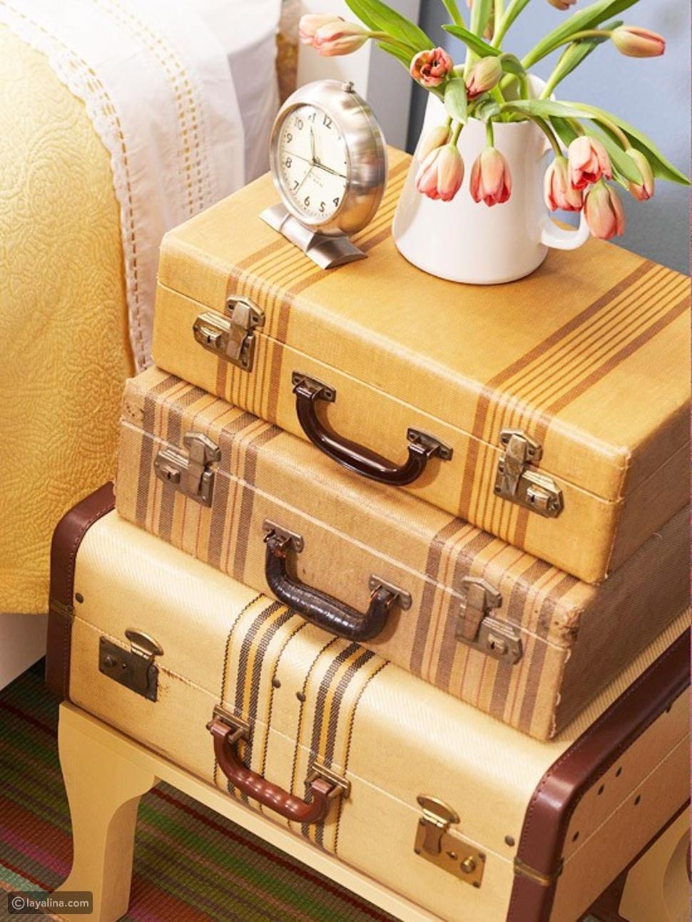 أفكار ديكور جميلة لعشاق السياحة والسفر