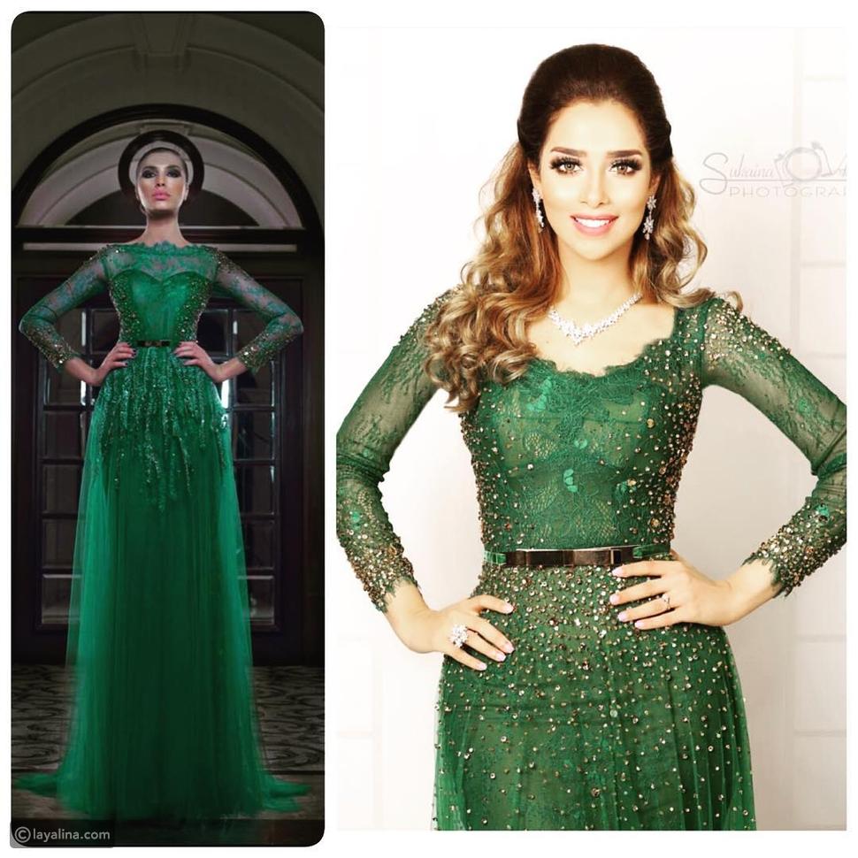 صور بلقيس فتحي ملكة بفستانين ساحرين في حفلات العيد، أيهما أجمل؟