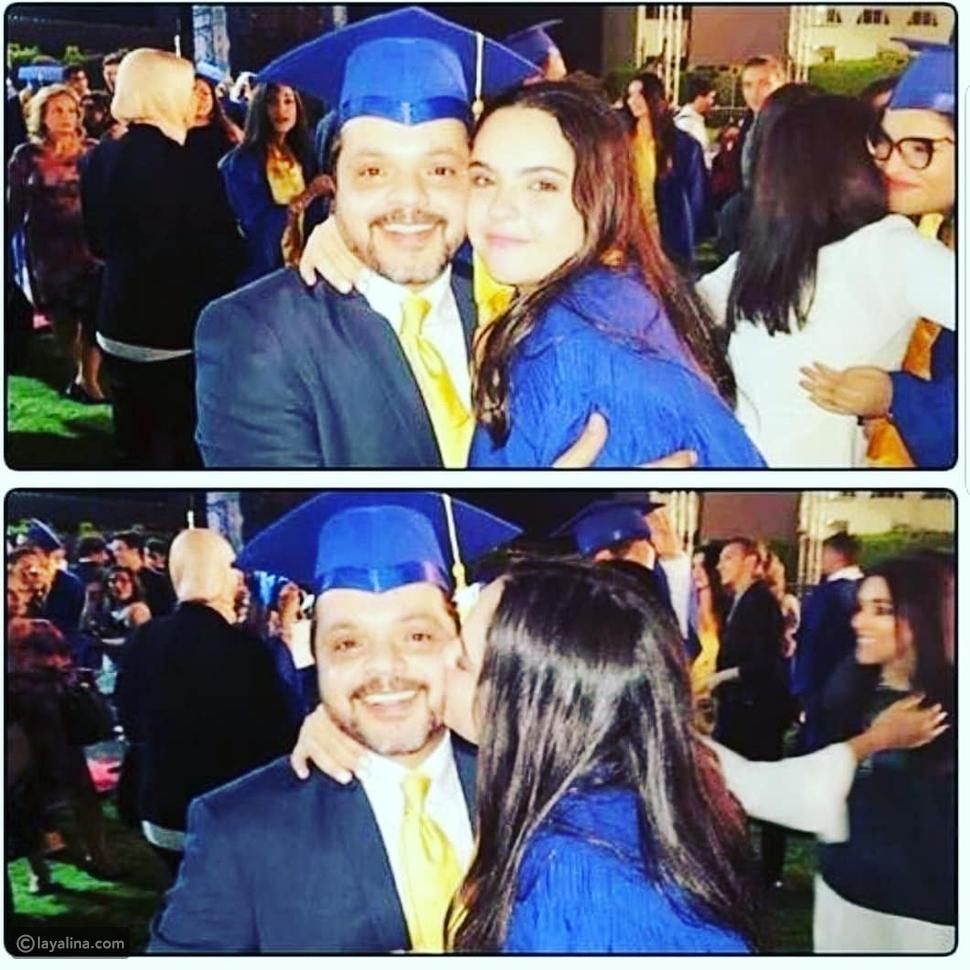 صورة محمد هنيدي مع ابنته تشعل انستقرام
