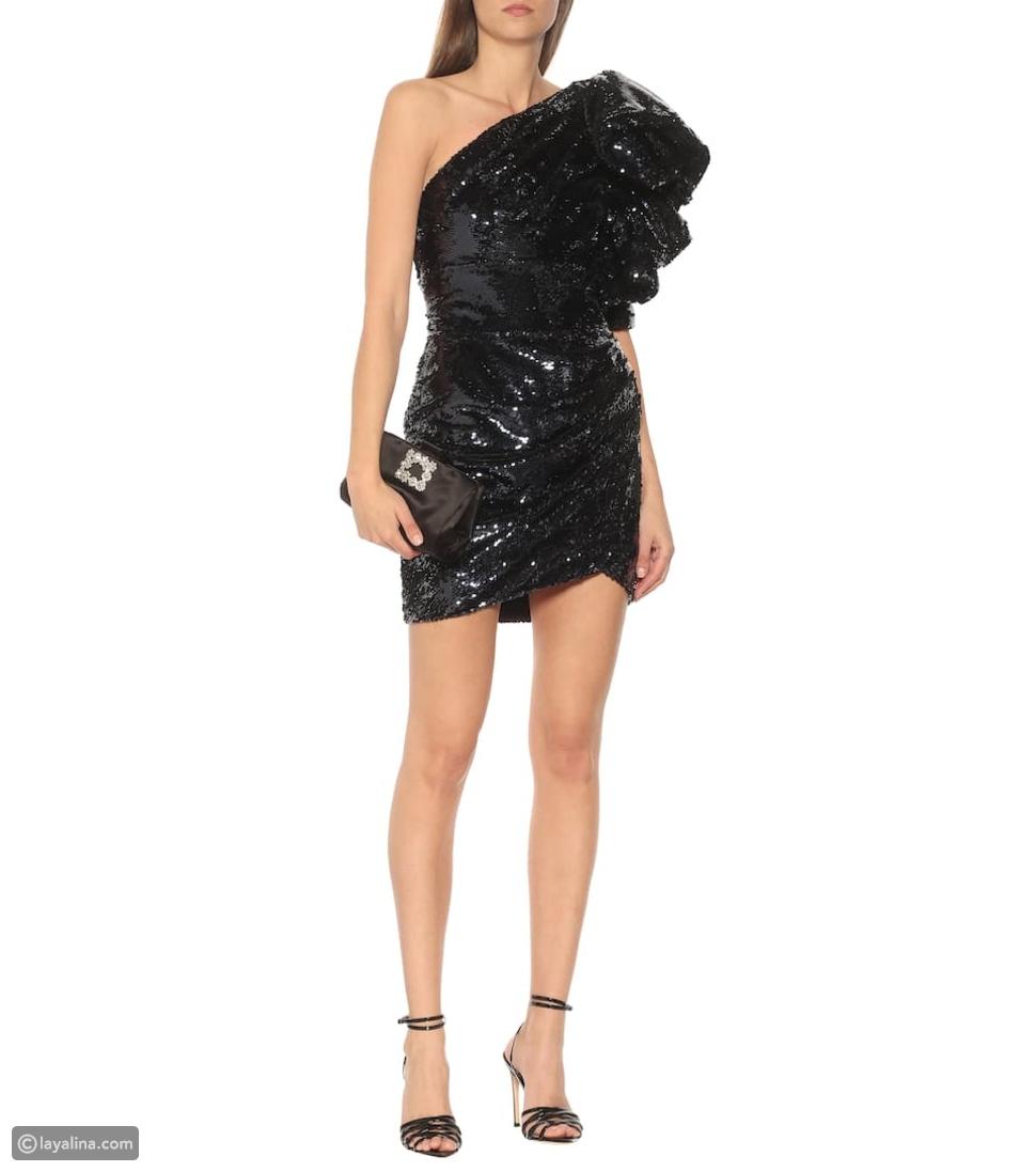 فستان قصير مطرز منAlexandre Vauthier