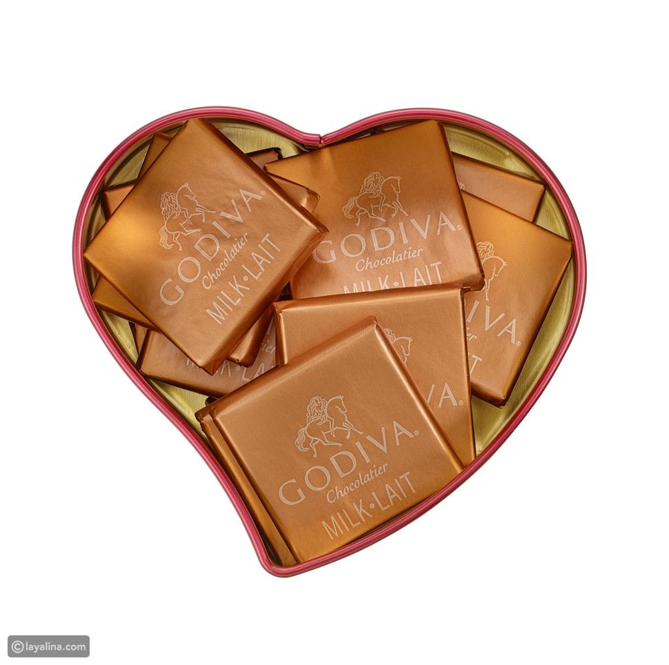 في عيد الحب ولأجل أن يعم الحب ….جوديفا تطلق مجموعة عيد الحب