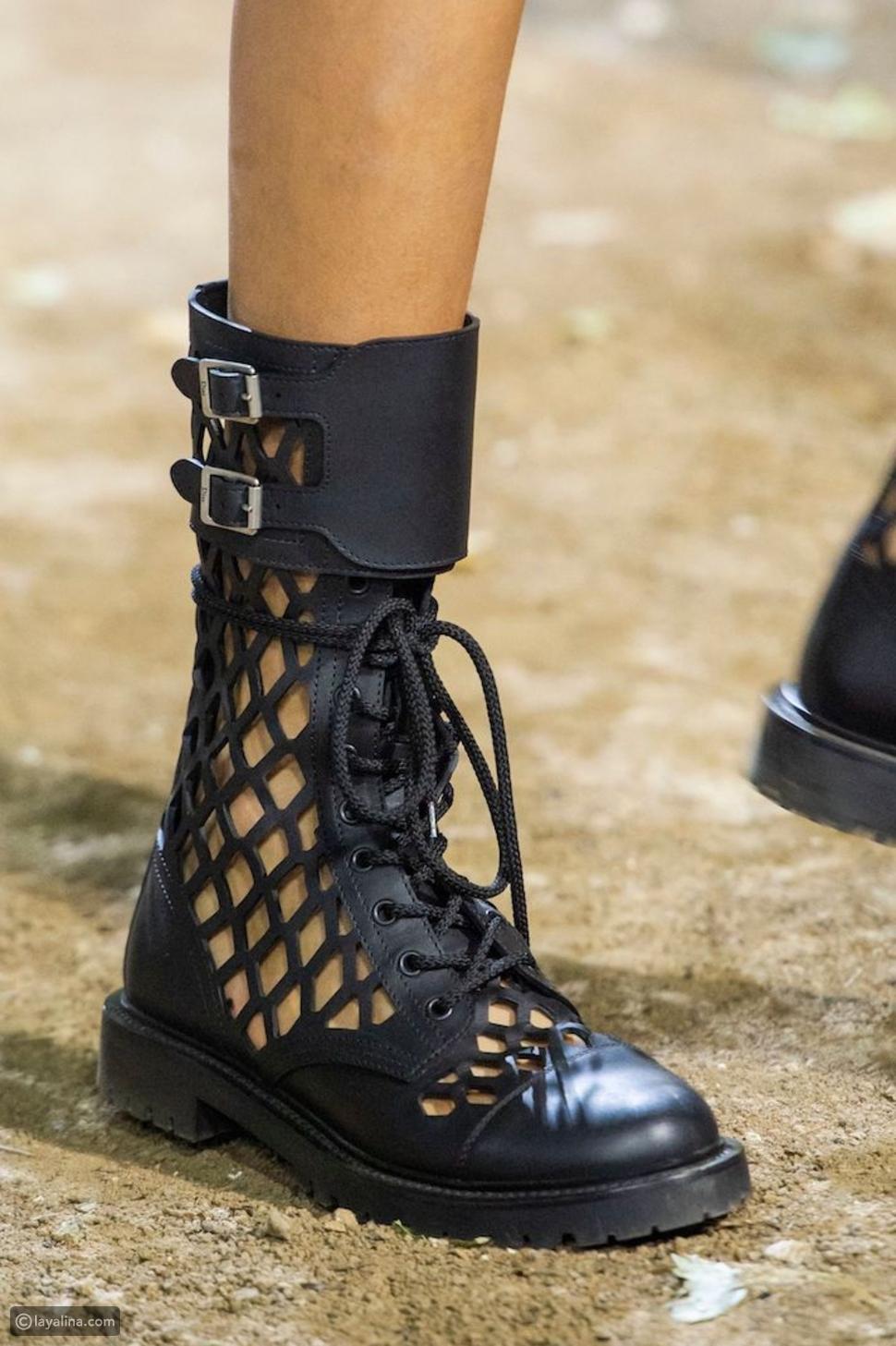 الأحذية القتالية من Dior