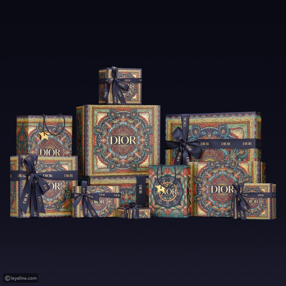 علب الهدايا من ديور