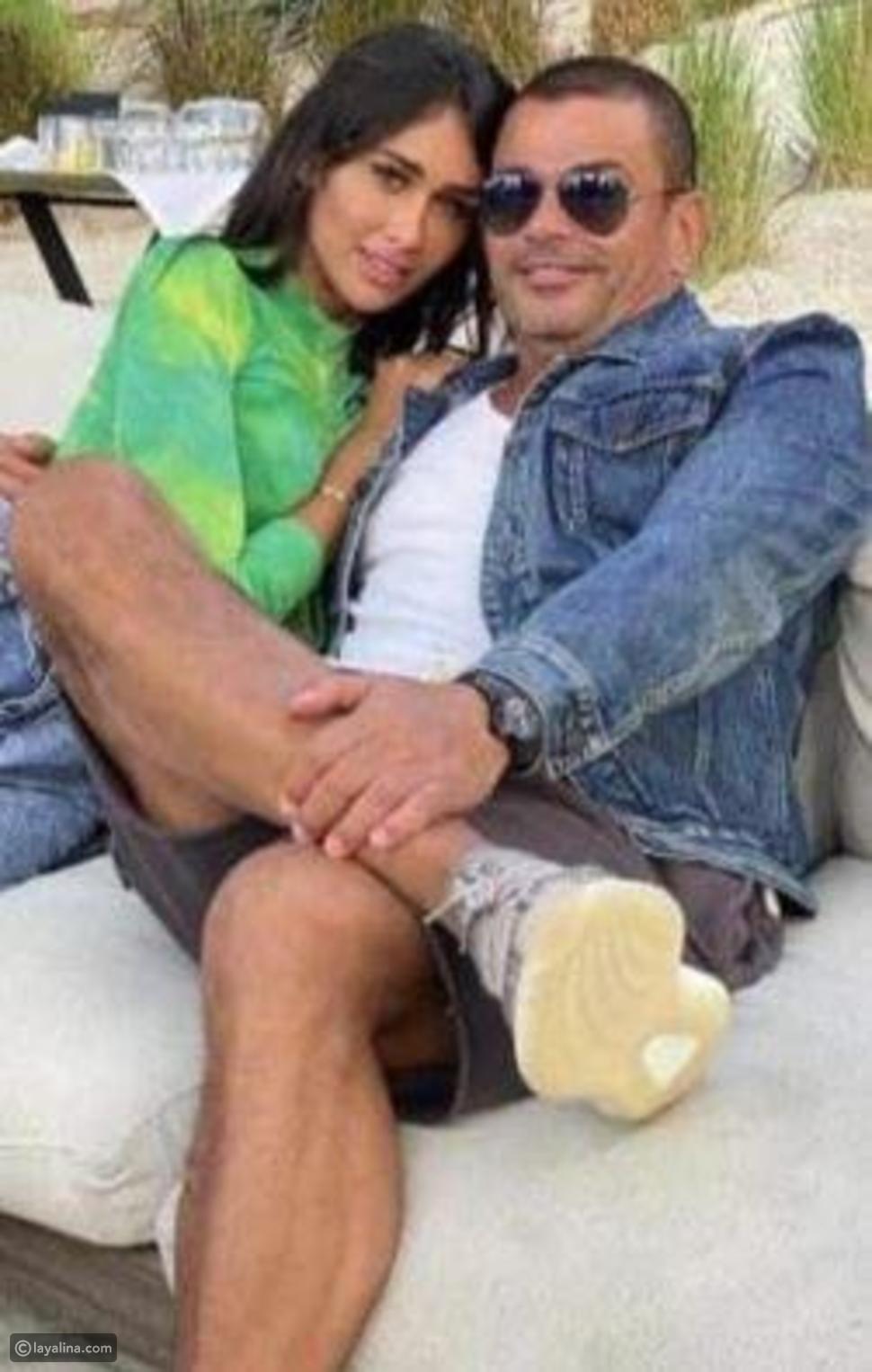 عمرو دياب يثير الجدل بصوره مع هذه الفتاة: فهل يعيش قصة حب جديدة!