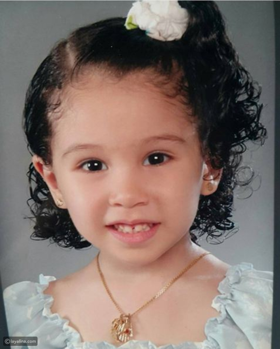 صورة جويرية حمدي في الطفولة لم تتغير عن اليوم شاهدوها