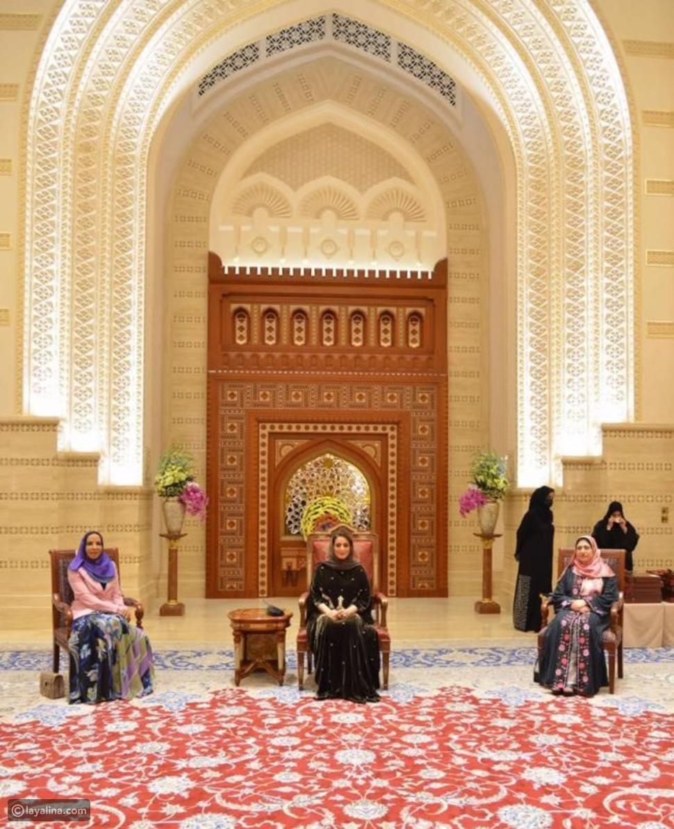 زوجة سلطان عمان في يوم المرأة