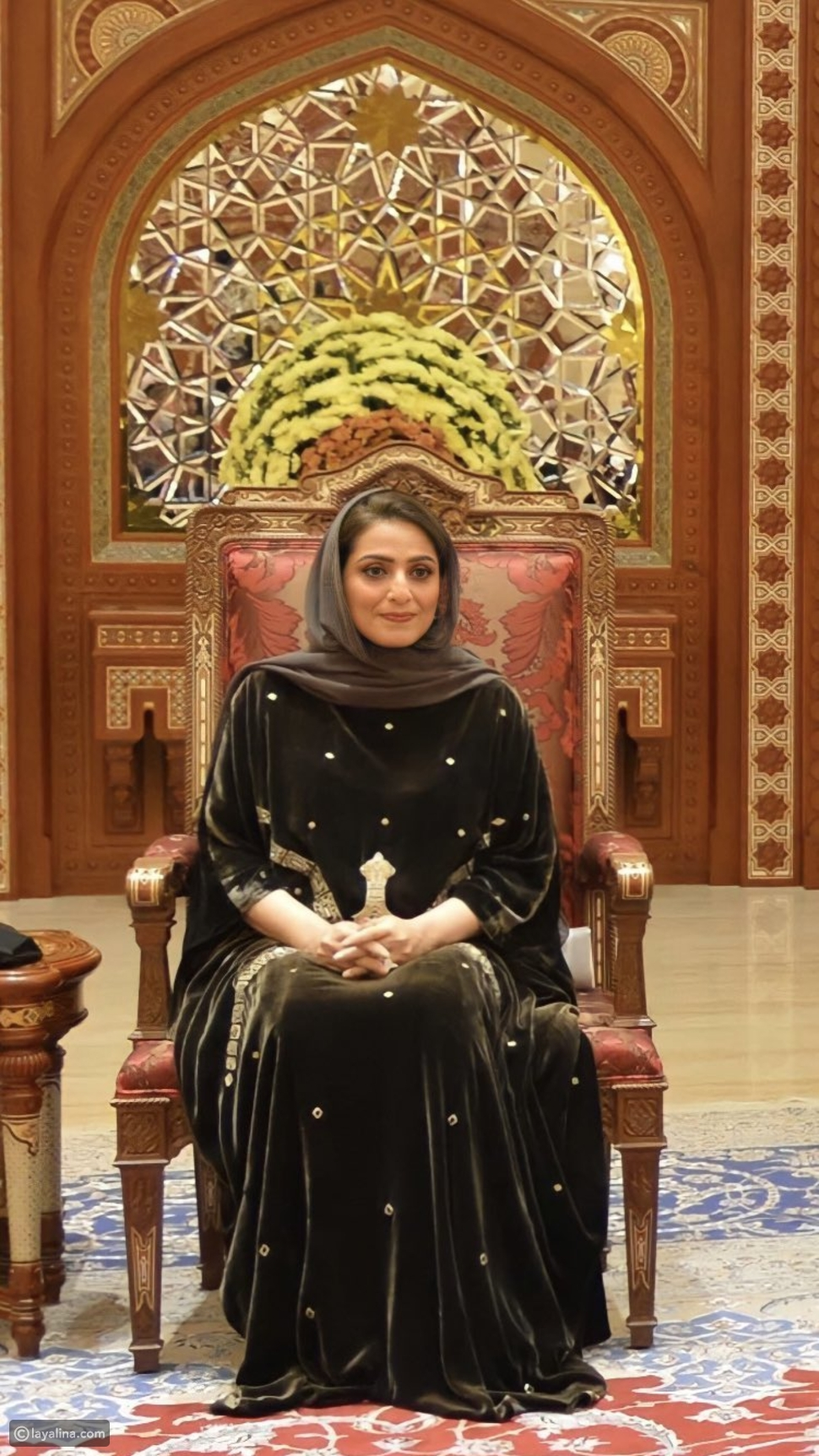 السيدة الجليلة عهد بنت عبد الله بن حمد البوسعيدية