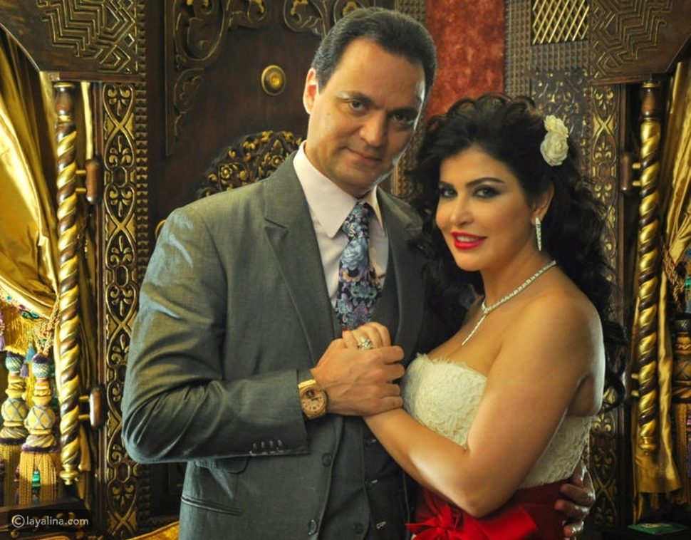 جومانا مراد وزوجها ربيع بسيسو