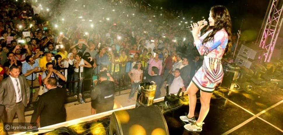 فيديو وصورة حذاء هيفاء وهبي في حفل العيد يثير التساؤلات!