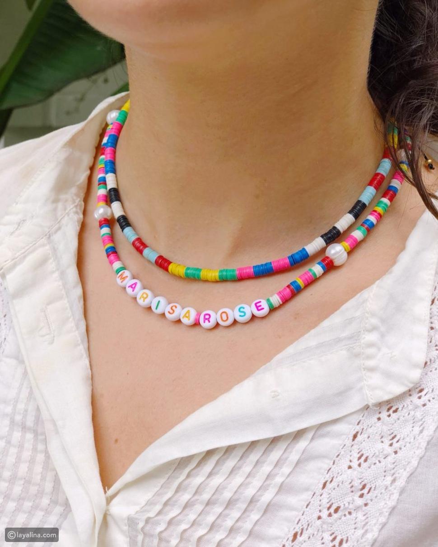 مجوهرات ملونة