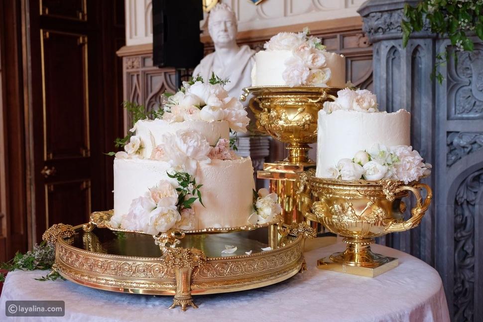 شاهدوا تصميم غير تقليدي لقالب حلوى زفاف الأمير هاري وميغان ماركل