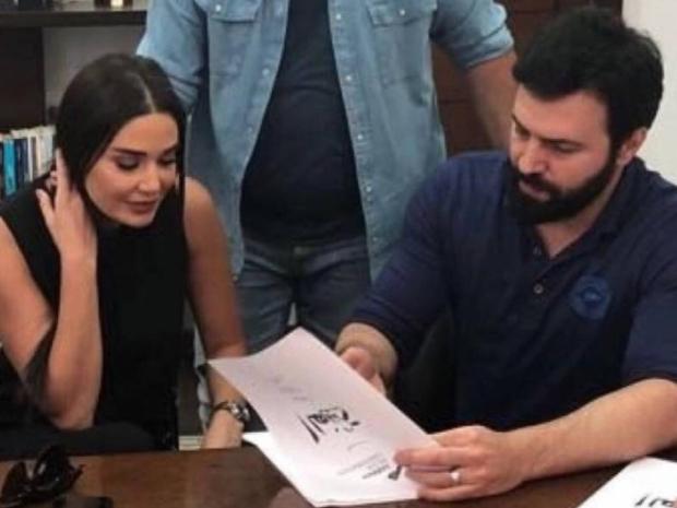 سيرين عبد النور نفت بشدة خلافها مع تيم حسن