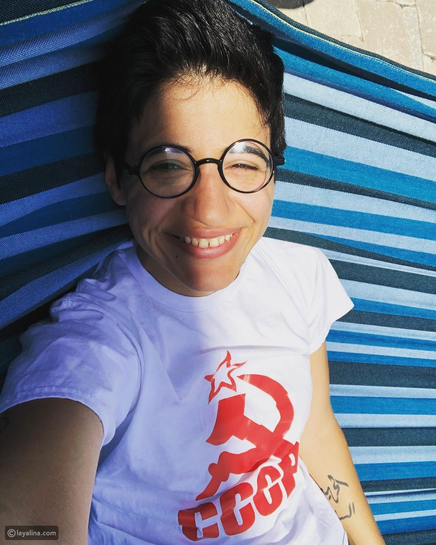 الناشطة سارة حجازي