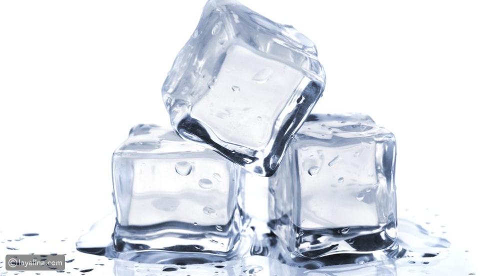 مكعبات الثلج تساعد على إنقاص الوزن