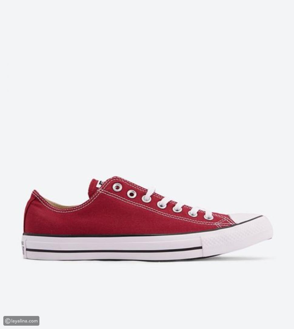 حذاء أول ستار بلون خمري من كونفرس