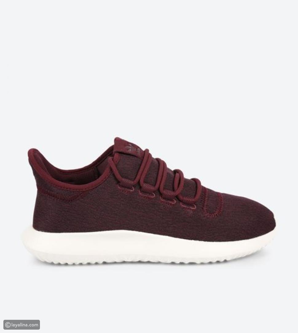 حذاء تيوبلر شادو بلون بني محمر من أديداس أوريجنال