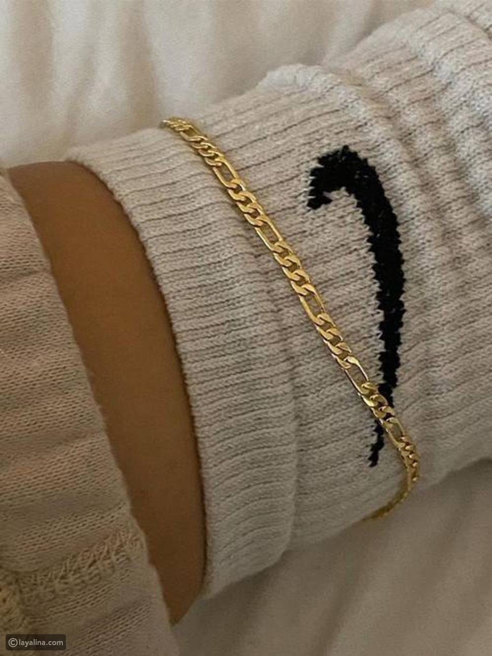 خلخال بسيط Simple Anklets