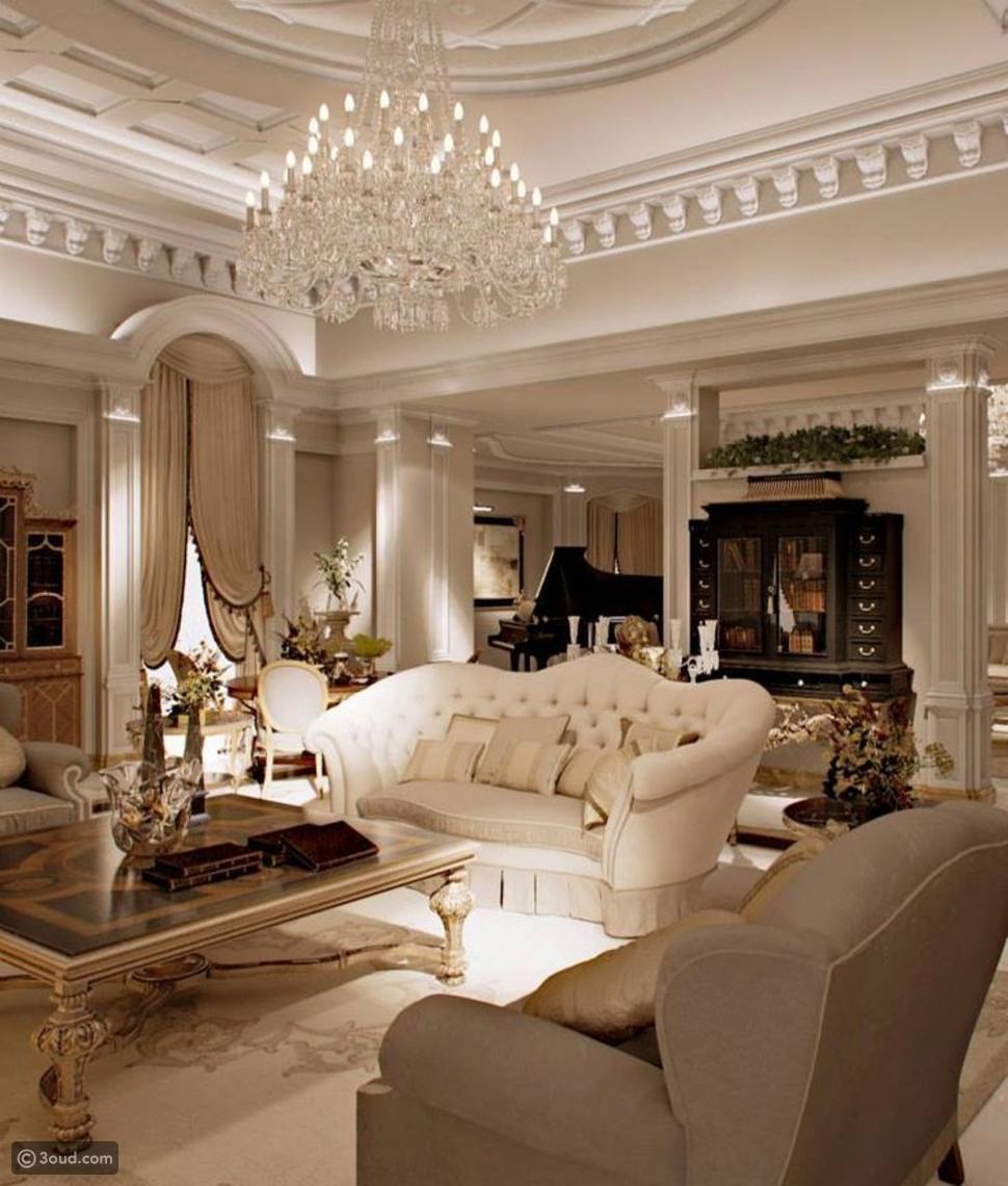 غرفة الجلوس أكثر فخامة في منزلك بهذه الخطوات
