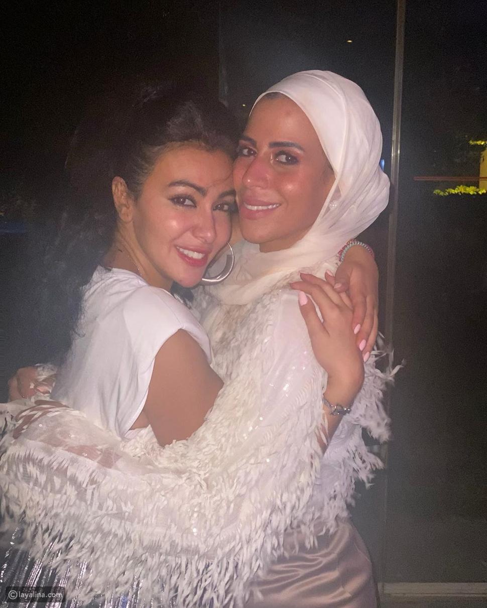 ابنة ماجد المصري ومنى اش اش مع ميرهان حسين