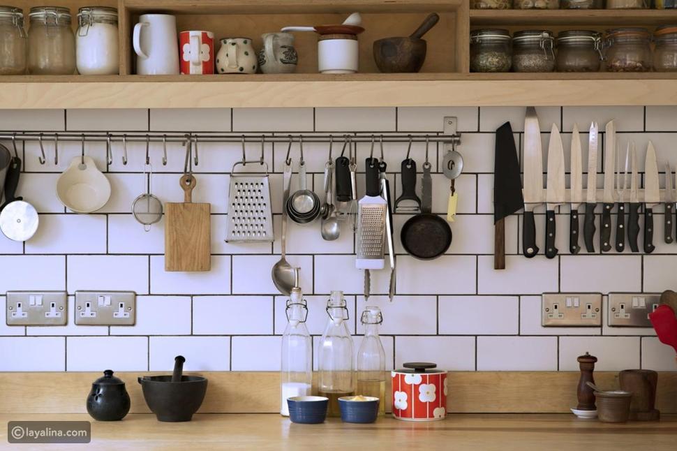 طريقة ترتيب المطبخ الصغير