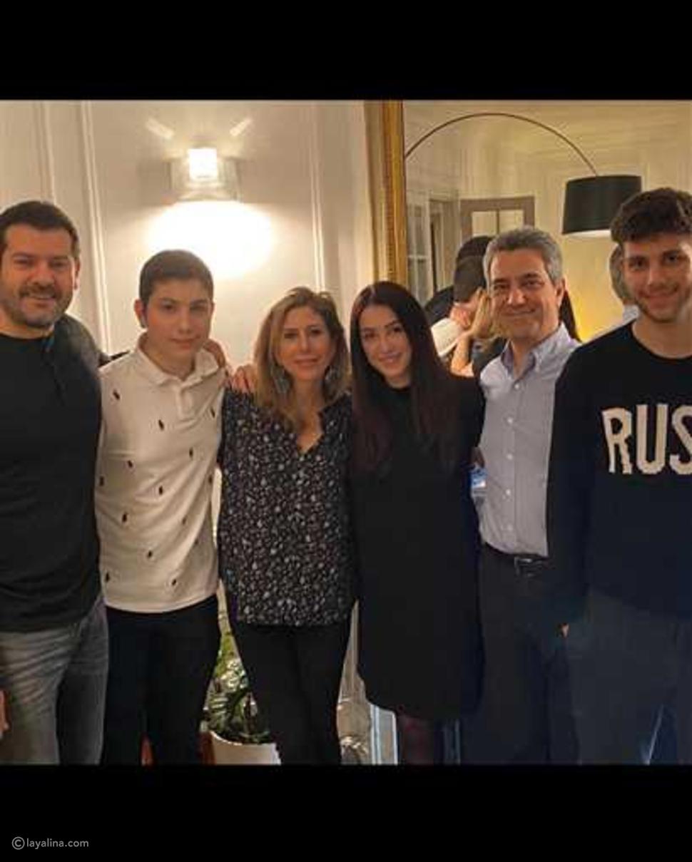 صور كندة علوش مع عائلتها في باريس تقلب الأجواء
