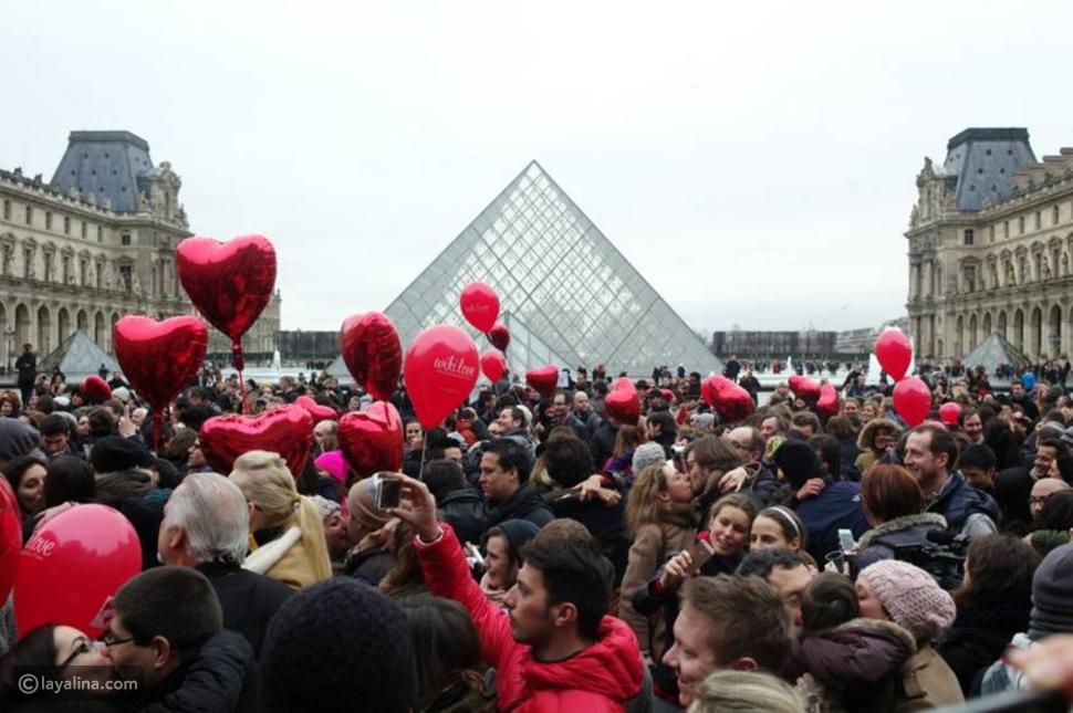 أغرب طقوس الاحتفال بعيد الحب حول العالم
