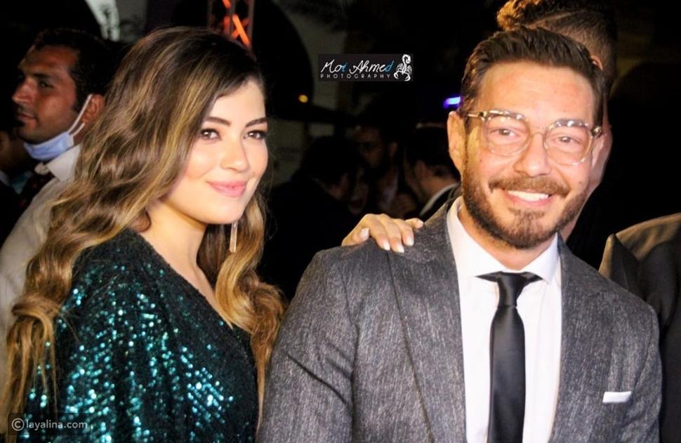 ليلى أحمد زاهر مع والدها