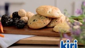 تعلمي طريقة عمل الخبز بالجبن من كيري