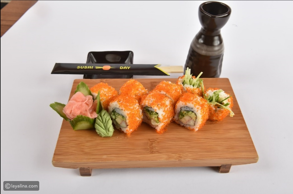 السوشي: الطبق الصحي الأفضل بالعالم