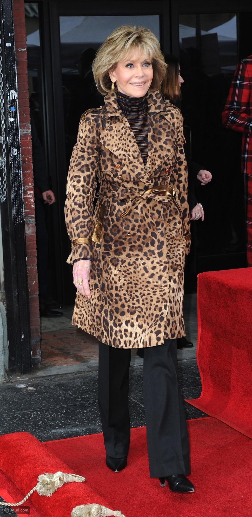 الممثلة Jane Fonda