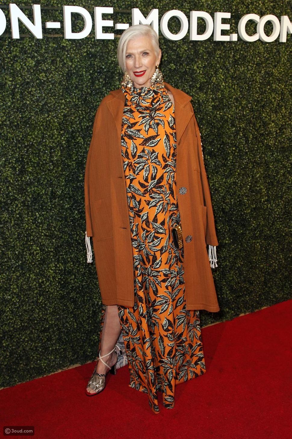 عارضة الأزياء Maye Musk
