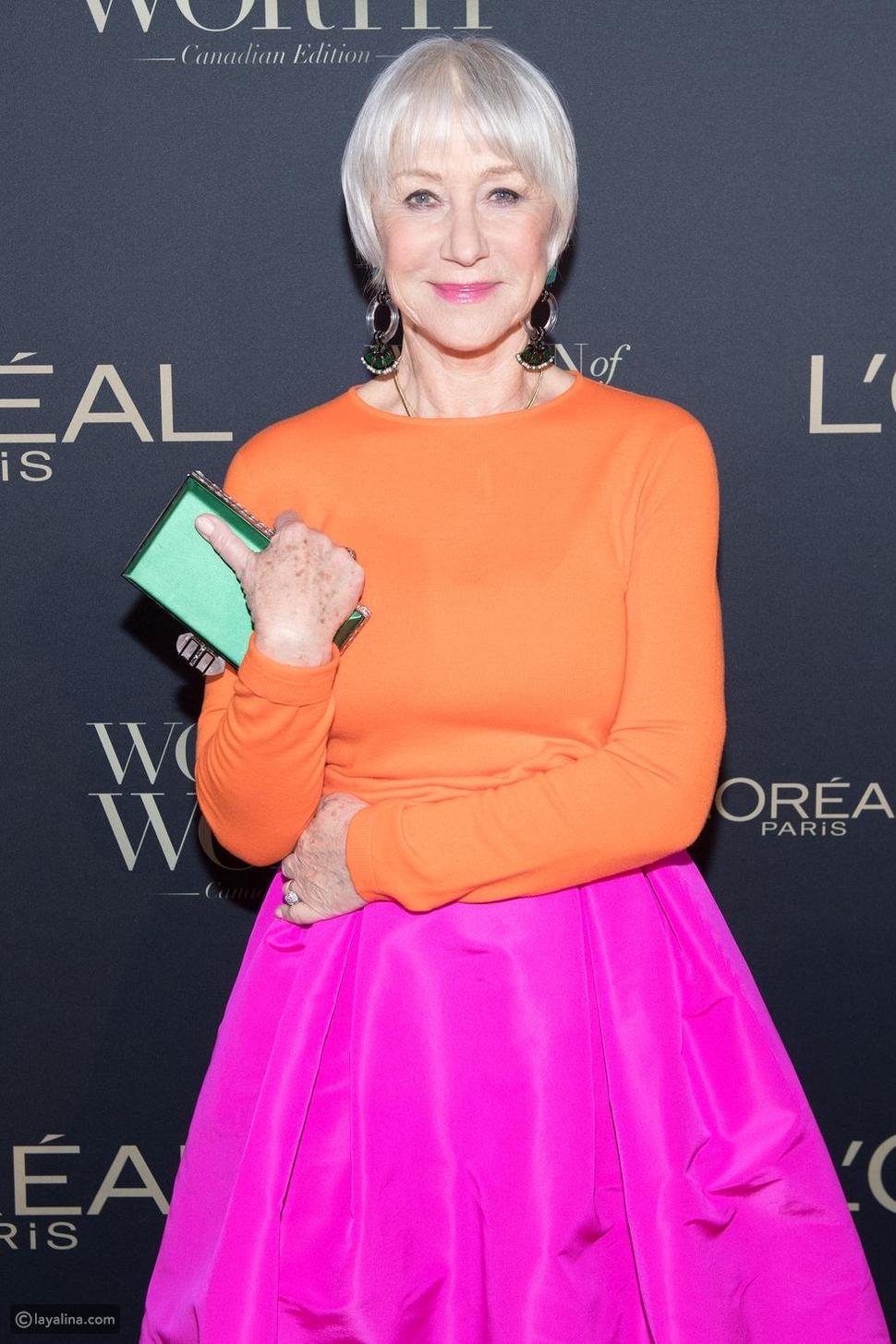 الممثلة Helen Mirren