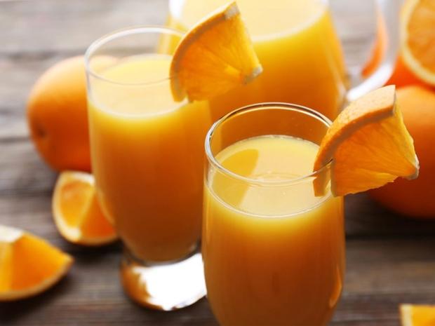طريقة عصير حامض البرتقال