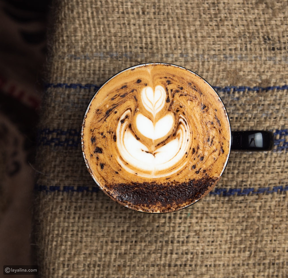 قهوة فلات وايت