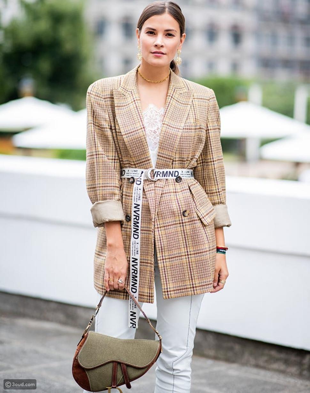 حقيبة Dior Saddle