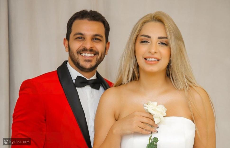 مي حلمي وزوجها محمد رشاد