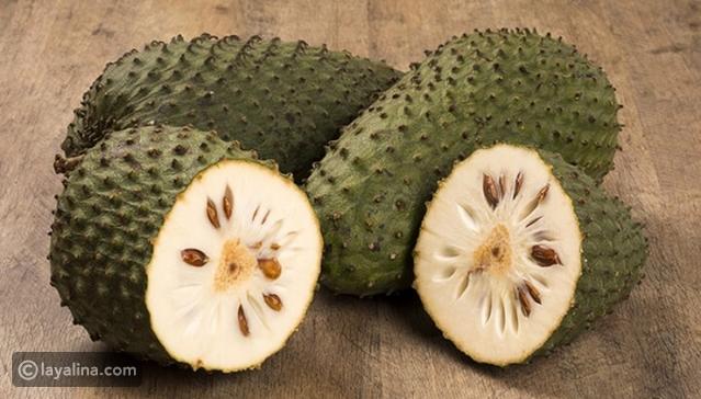 فوائد فاكهة القشطة للشعر ليالينا