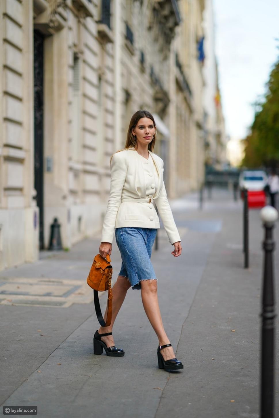إطلالات كاجول مع أحذية ماري جين
