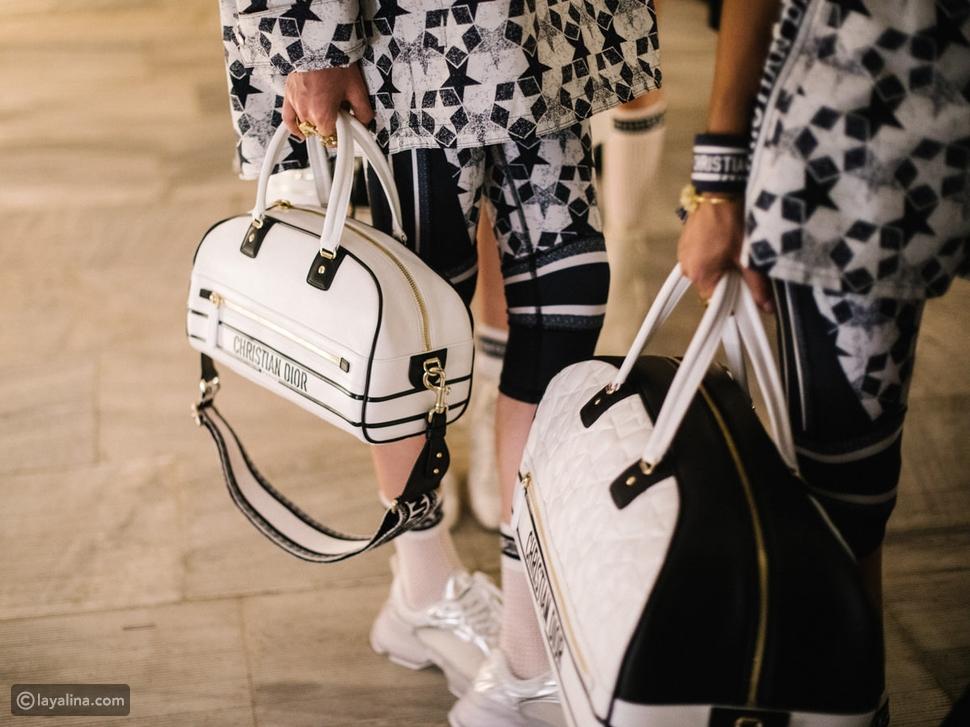 حقائب Dior من مجموعة ريزورت 2022