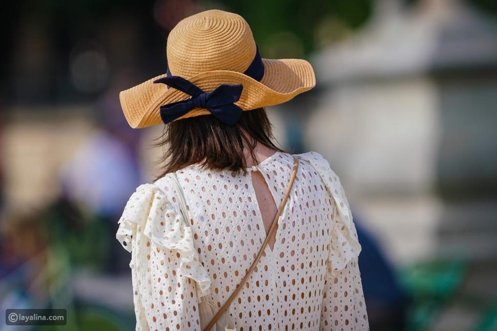 قبعة القشStraw Hat