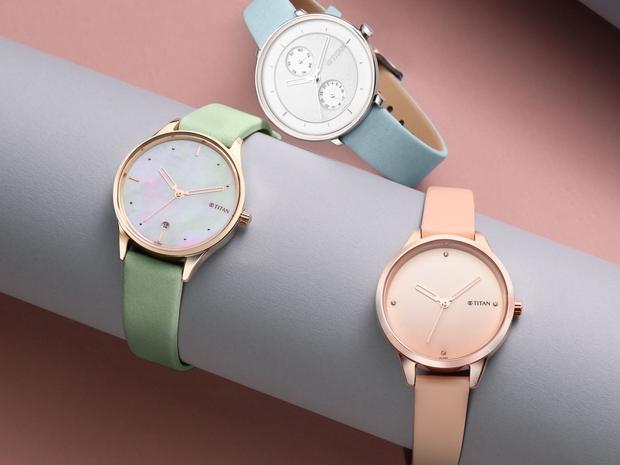 Pastel Dreams Titan Watches
