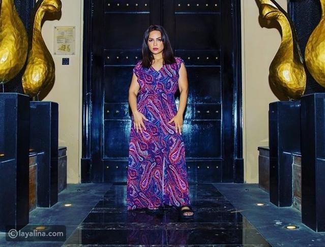 منى السابر والدة حلا الترك تعلن جنسيتها الحقيقية - ليالينا