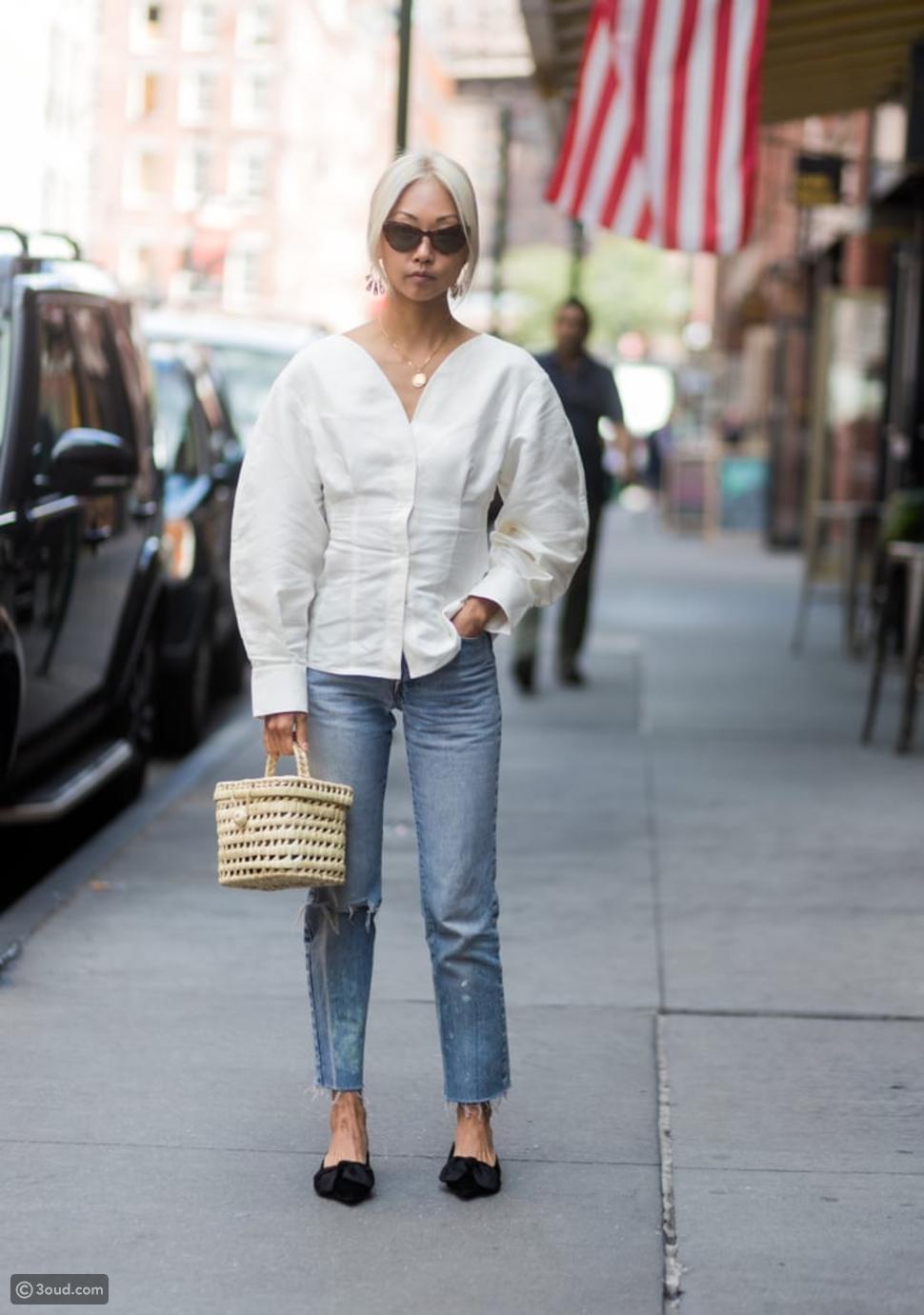 أحذية Lace-Up Flats